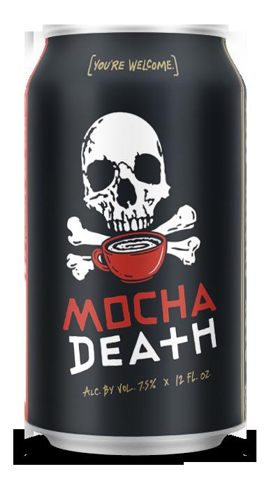 Mocha Death 12 oz Can