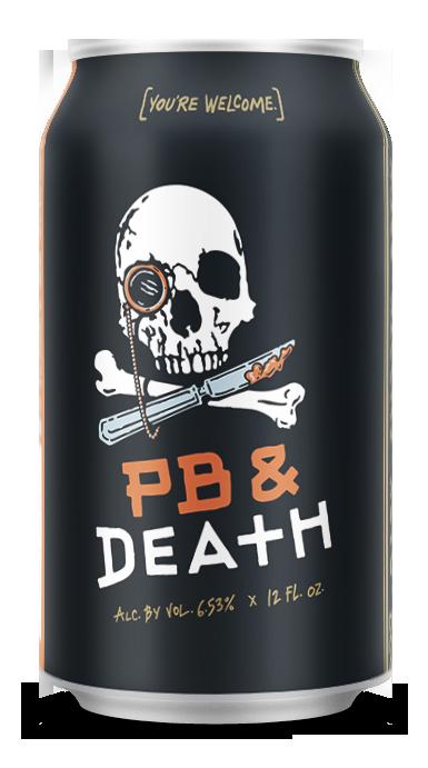 PB & Death 12 oz can